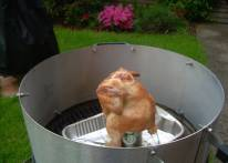 Backyard Barbecue Stacker Beer Can Chicken