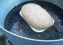 Bake bread in you Barbecue Stacker