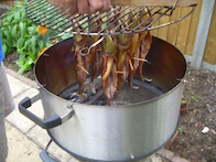 Backyard Barbecue Stacker cold smoked mackerel